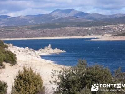 Senda Genaro - GR 300 - Embalse de El Atazar; senderismo por mallorca